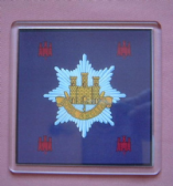 ROYAL ANGLIAN REGIMENT LARGE ACRYLIC COASTER